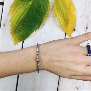 Cape Cod Jewelry | Twist Single 14K Ball Bracelet